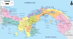 Map Caribbean by Map Of Panama Caribbean Sea