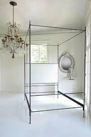 louis xvi iron canopy bed