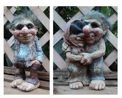 fantaisie viking barrage troll gnome cadeau ornement