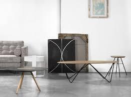 Orb Table L Orb Coffee Table L 130 Cm Wood Black Leg By Universo