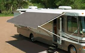 vista shade for electric rv awnings easy to set up and use