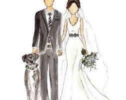 wedding dress sketch etsy