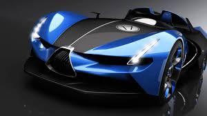 bugatti concept gangloff futuristic bugatti roadster youtube