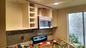 Installing Base Cabinets On Uneven Floor Exellent Kitchen Backsplash Uneven Wall Reno Update Subway Tile