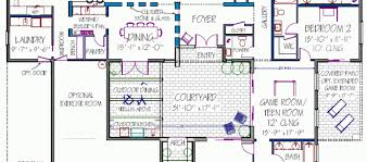 U Shaped House Plans With Courtyard 100 U Shaped House 7 Best C Shape Floor Plan Images On