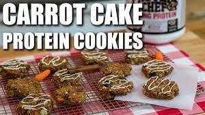 bodybuilding carrot cake oatmeal cookies youtube