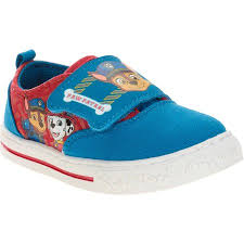 paw patrol toddler boys u0027 casual shoe walmart