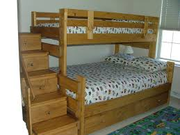 bedroom twin cabin bed plan how to make stairs for bunk beds