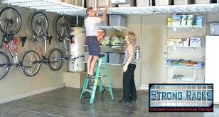 Garage Storage Organizers - overhead garage storage plans moregarage shelving ideas 2 4