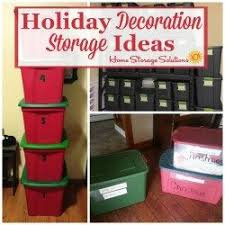 decoration storage challenge organizing decorations