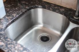 How To Polish A Stainless Steel Sink - Stainless steel kitchen sink cleaner