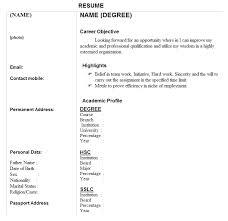 Resume Biodata Sample by Miscellaneous Net Biodata Sample For Professionals