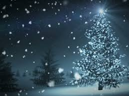 christmas tree with snow christmas tree snow loop flickering mind media worshiphouse media