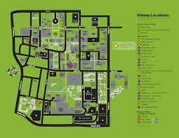 Columbia University Campus Map Map Of Locations Campus Dining Services