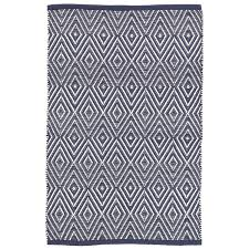 Dash And Albert Outdoor Rugs by Diamond Navy White Indoor Outdoor Rug Dash U0026 Albert