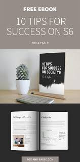 get the free ebook 10 tips for success on society6 fox and eagle