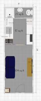 200 sq ft house plans free tiny house plan with loft under 200 sq ft