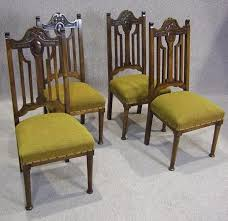 Victorian Dining Chairs Set Of Four Late Victorian Walnut Dining Chairs