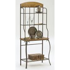 Oak Hill Bakers Rack Adorable Bakers Rack Accessories With Shelves Bakers Rack