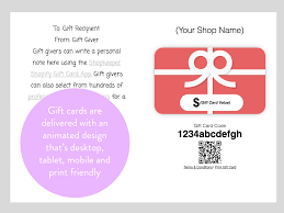 gift cards app shopkeeper easy gift cards ecommerce plugins for online stores
