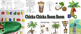 chicka chicka boom boom letters of the alphabet preschool