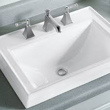 How To Make A Concrete Sink For Bathroom Bathroom Sinks At The Home Depot