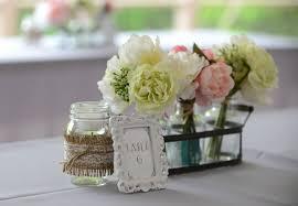 jar floral centerpieces diy jar and silk flower centerpieces