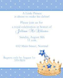 prince baby shower invitations baby shower invitations