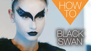 the new black swan halloween how to makeup tutorial youtube