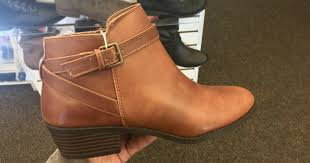womens brown boots payless payless shoesource eagle ankle boots just 14 39