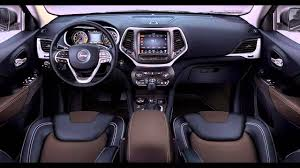 Jeep Cherokee Sport Interior 2016 Jeep Grand Cherokee Interior Youtube