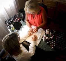 nail services u2014 mane door salon
