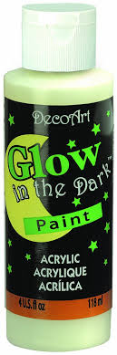 glow in the paint decoart ds50 10 glow in the paint 4 ounce