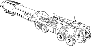 military coloring book 100 trucks coloring pages free printable fire truck