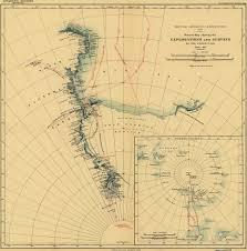 Antartica Map Maps Of Shackleton U0027s 1907 1909 Antarctic Expedition