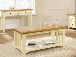 oak coffee table with shelf coffee tables thippo