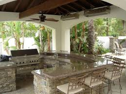 outside kitchen ideas design with pizza oven http