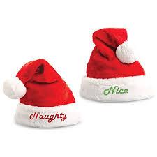 santa hats embroidered santa hat set soft plush kovot