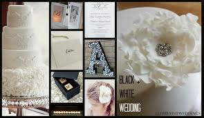 wedding color schemes black and white allfreediyweddings com