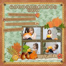 thanksgiving scrapbook templates thanksgiving scrapbook designs