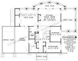 cottage homes floor plans cottage house plans unique small plan open floor ranch home