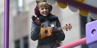 watch love at the thanksgiving day parade grace vanderwaal performs at macy u0027s thanksgiving day parade