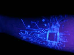 circuit chip uv tattoo design for forearm golfian com