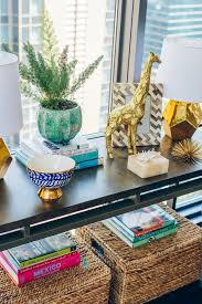 accent decor to refresh your home the fox she chicago style blog how to style a buffet table