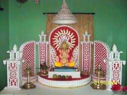 how to decorate a temple at home the images collection of ganpati u page jitoojadhav white thermocol