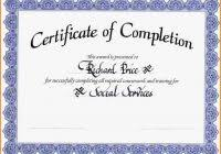 certificate of completion free template word certificate of completion template word high quality template