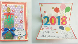 new year cards greetings diy new year card 2018 greeting card for new year celebration new