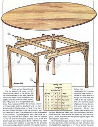 Simple Dining Table Plans Simple Dining Table Plans Woodarchivist