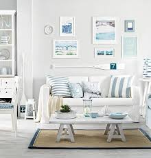 beach living rooms ideas soft blue white decor ideas to turn your living room into a bright