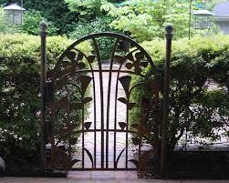 decorative metal garden gate by alabama metal gorgeous